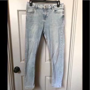 TOPSHOP Jamie Skinny Jeans
